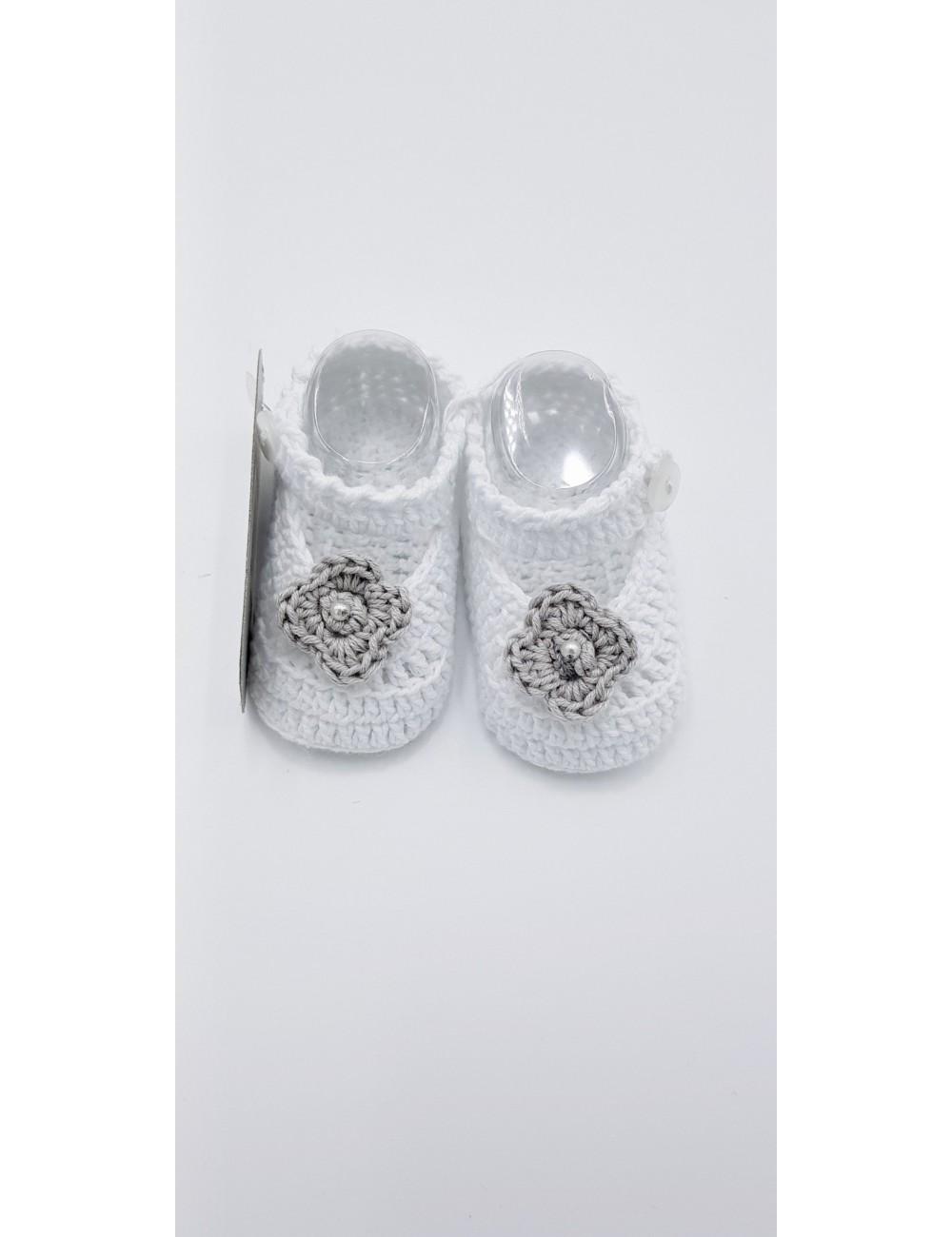 Zapato Con Gris Blanco Hilo De rCthQds